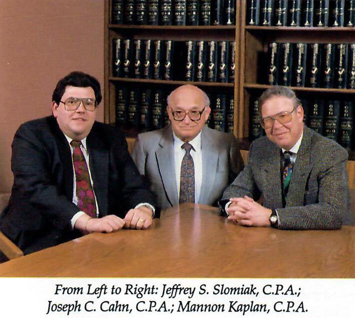 1977 Partner Trio: Slomiak, Cahn, Kaplan