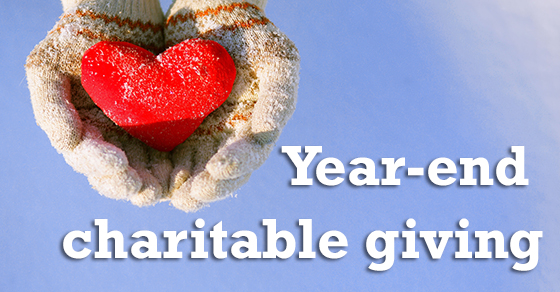 What You Need to Know About Year-End Charitable Giving in 2017