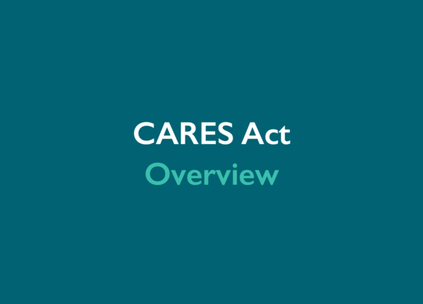 CARES Act is signed into law