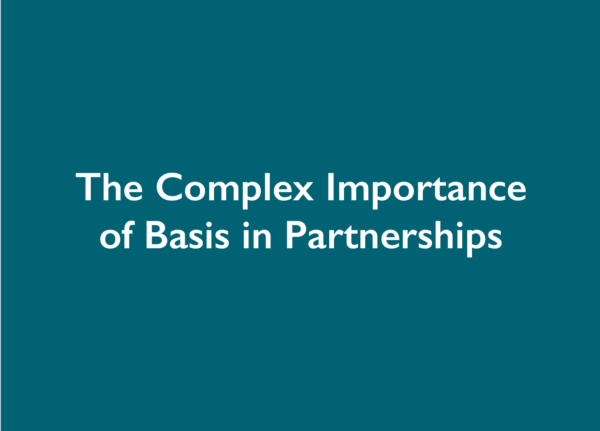 The Complex Importance of Basis in Partnerships