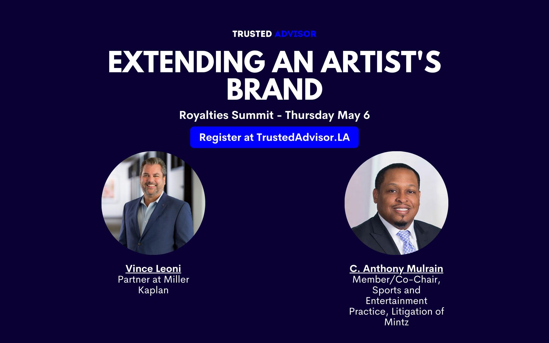 Virtual Event | Royalties Summit | Trusted Advisor Assoc.